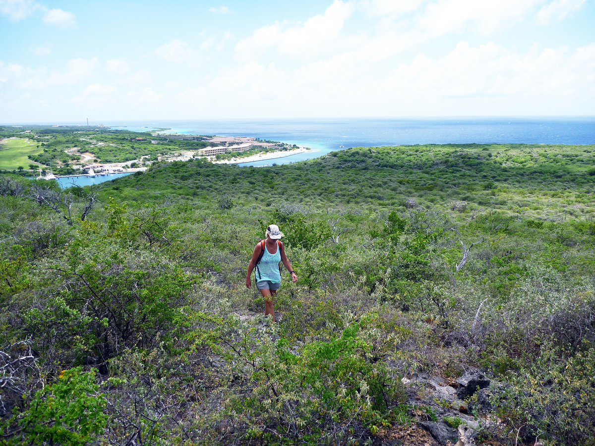 Short Hike in Curacao