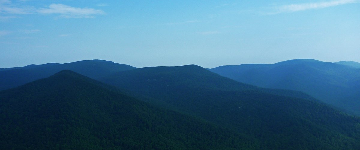 The Blue Ridge Mountains of Virginia